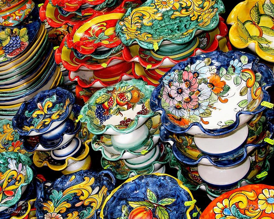 Le ceramiche di vietri sul mare radici 24 - Piastrelle di vietri ...